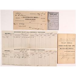 California Express Documents (1866-1910)
