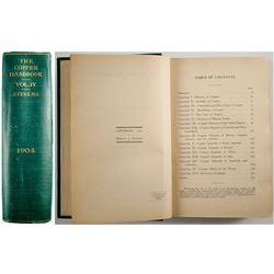 The Copper Handbook Vol. IV 1904 by Stevens