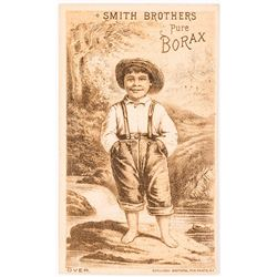 Borax Smith/Smith Bros. Trade Card