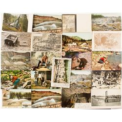 California Mining Postcard Set