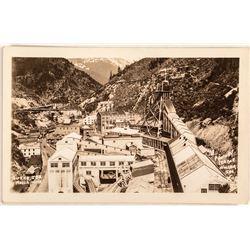 Hecla Mine Black & White Real Photo Postcard