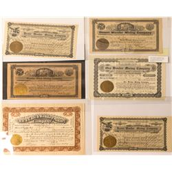 Small Wonder Mining Stock Certificate Collection