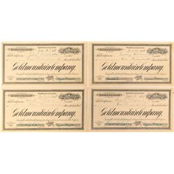 Goldmountain Company Stock Certificates--Graham Hardy Fantasy Pieces