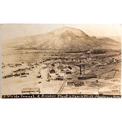 Magdalena, New Mexico Mining Real Photo Postcard