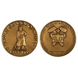 Krumb School of Mines, Columbia University, Centennial Medal, 1964