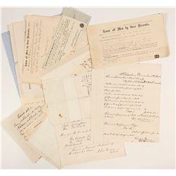 Lykens Valley/ Green Mountain Coal Co. Correspondence Archive