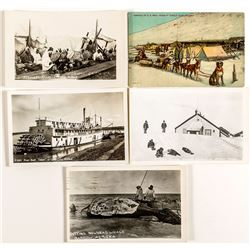 Photo Postcards of Circle City and Barrow, Alaska