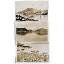 Real Photo Postcards from Wrangell, Alaska