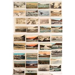 Real Photo Postcards of Alaskan Glaciers