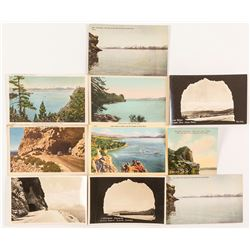 Postcards of Cave Rock at Lake Tahoe