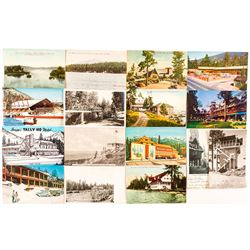 Postcards of Tahoe Area Buildings
