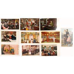 Chinese in San Francisco Interior Scene Postcards