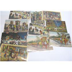 Dragon Parade Postcard Collection