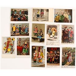 Postcard Collection of Chinese Youth in San Francisco