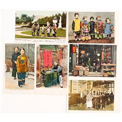 "Six Older San Francisco Postcards - ""Address Only"" on Reverse"