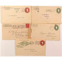 Bottle Related California Postal History