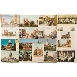 Color Postcards of Boise, Idaho