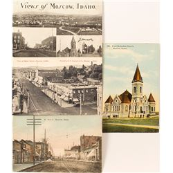 Moscow, Idaho Postcard Group