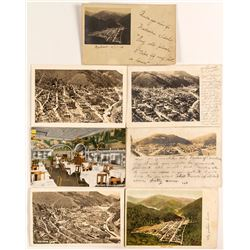 Wallace, Idaho Postcard Group including Real Photo