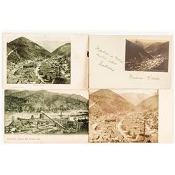 Four Wardner, Idaho Postcards