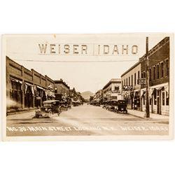Rare Main Street Weiser, Idaho RPC