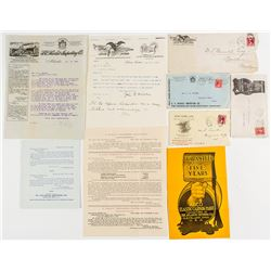 Five Postal History Covers with Contents (Lots of Pictorial Material)