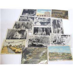 Carlsbad Cavern and City Postcards