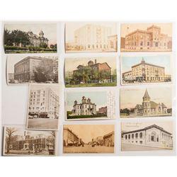 Pendleton, Oregon Postcards of Buildings