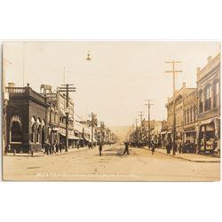 Very Early Black and White Pendleton, Oregon RPC