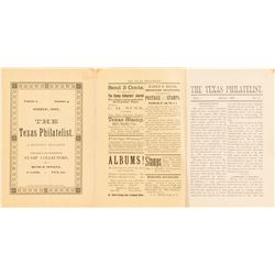 The Texas Philatelist March 1887 Pamphlet