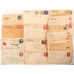 Miscellaneous State Covers: Mostly 1880-1910