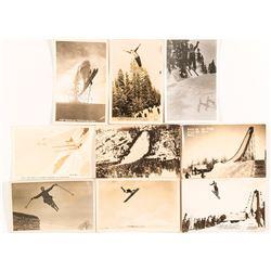 Ski Jumper Black and White RPC's