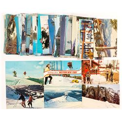 Skiing Around The World - Color RPC Postcard Collection
