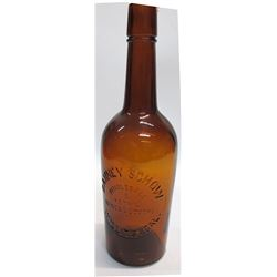 Schow Whiskey Bottle (Willits, California)