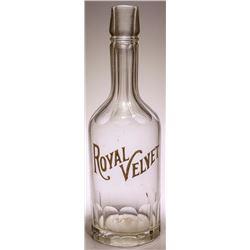 Royal Velvet Back Bar Bottle