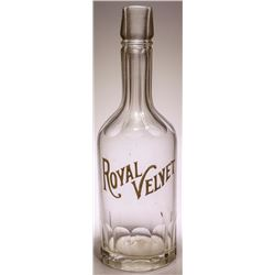 Royal Velvet Back Bar Bottle
