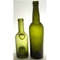 Two Old Wine Bottles