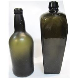Case Gin and Early Ale Bottles