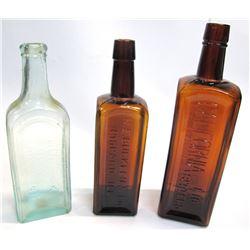 Set of 3 Bitters Bottles