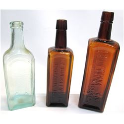 Set of 3 Bitters Bottles