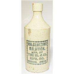 Vulcanizing Solution Ceramic Bottle