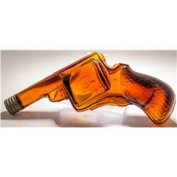 C.P.P. Co. Amber Pistol Bottle
