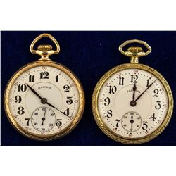 Two Illinois Watch Co. Pocket Watches
