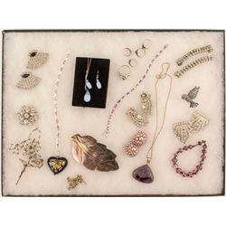 Rhinestones, Pearls, etc, Jewelry Lot