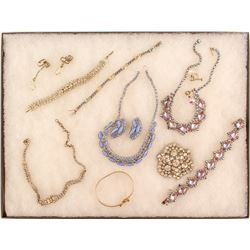 Sparkling Vintage Costume Jewelry