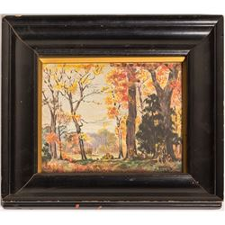 Autumn Landscape (Oil Painting)