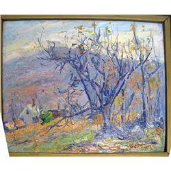 Hampden Hills (Oil Painting)