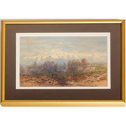 Mountain Landscape (Oil Painting)
