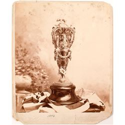 California Mid Winter Fair Trophy Large Cabinet Card