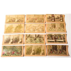1893 Columbian Exposition Hand-colored Stereoview Collection